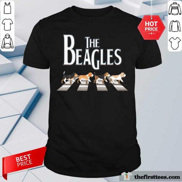 The Beagles Cross The Road Shirt