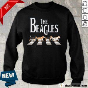 The Beagles Cross The Road Sweatshirt
