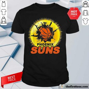 The Phoenix Suns Basketball Shirt